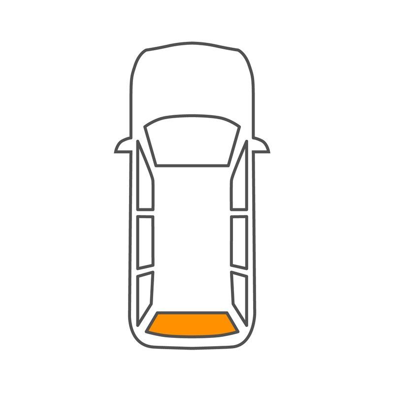 FIAT DOBLO 263 Heckscheibe TÜR RECHTS Heizung GRÜN ab 2010 SCHEIBE AUTOGLAS NEU